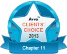 Avvo Client's choice 2013 chapter 11
